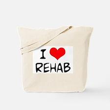 I Love Rehab Tote Bag