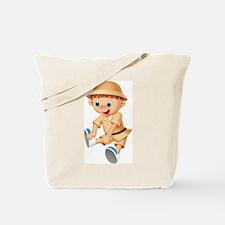 Safari Child (Front) Tote Bag