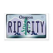 plate-ripcity Rectangle Car Magnet