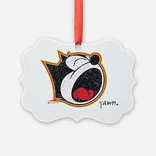 yawn Ornament