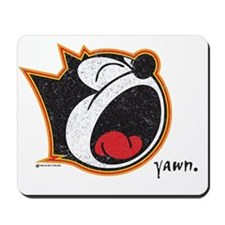 yawn Mousepad