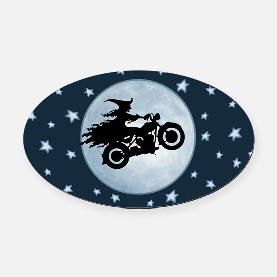 Wicked Mama Oval Car Magnet