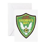 Yuba Sheriff Greeting Cards (Pk of 10)