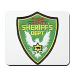 Yuba Sheriff Mousepad