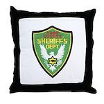 Yuba Sheriff Throw Pillow