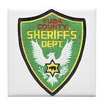 Yuba Sheriff Tile Coaster