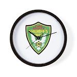 Yuba Sheriff Wall Clock
