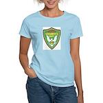 Yuba Sheriff Women's Pink T-Shirt