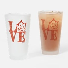 love Drinking Glass