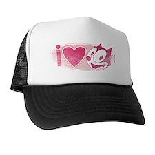i love felix Trucker Hat