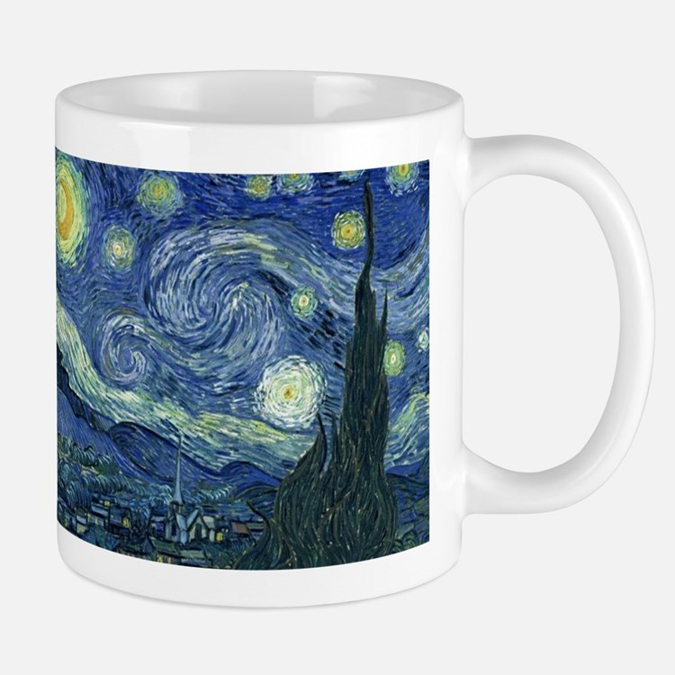 Van Gogh Wraparound Small Mugs