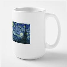 Van Gogh Wraparound Ceramic Mugs