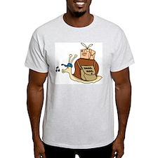 Snail Mail Ash Grey T-Shirt