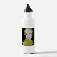 Mozart_portraiinOlivef Water Bottle