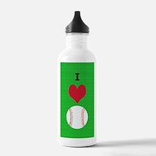 I Love Baseball Itouch Water Bottle