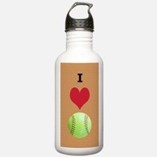I Love Softball Itouch Water Bottle
