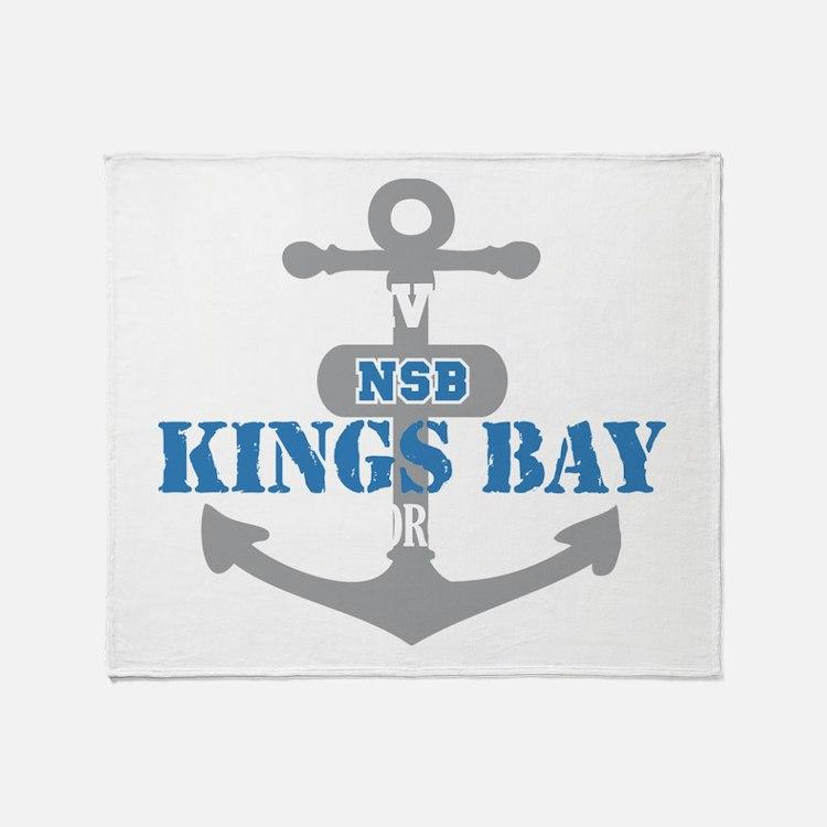GA Kings Bay 2 Throw Blanket