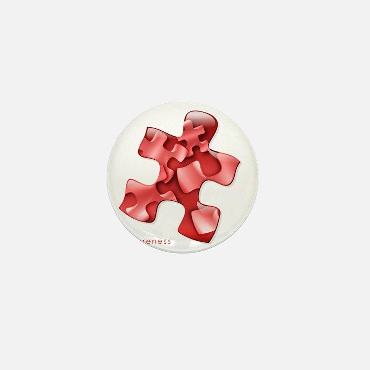 puzzle-v2-red-onblk2 Mini Button