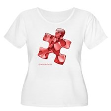 puzzle-v2-red T-Shirt