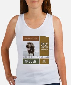 dog_tshirt_white Women's Tank Top