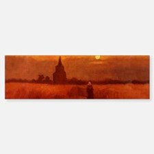 Van Gogh Tower Bumper Bumper Sticker