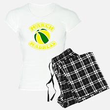 march madness yellow Pajamas