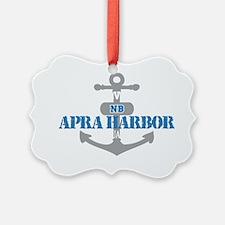 GUAM Apra Harbor 2 Ornament