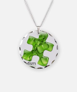 puzzle-v2-green Necklace