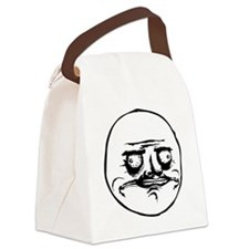 Me Gusta Canvas Lunch Bag