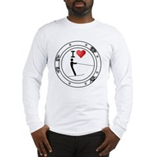 Iheart-ski Long Sleeve T-Shirt
