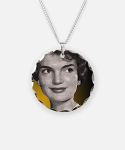 Jackie O clock close up Necklace