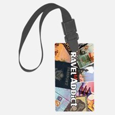 TravelAddictPoster Luggage Tag
