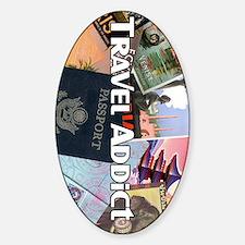 TravelAddictPoster Decal
