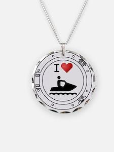 Iheart-jetski Necklace