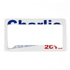 charlie a License Plate Holder