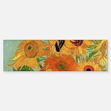 Van Gogh Sunflowers Wraparound Car Car Sticker