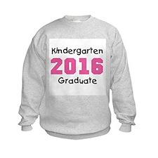 Pink Kindergarten Grad 2014 Sweatshirt