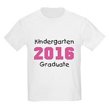 Pink Kindergarten Grad 2014 T-Shirt