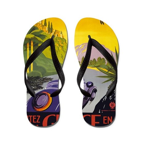 Greece iPad Flip Flops