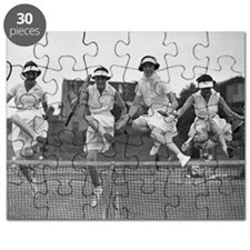 Women with Tennis Rackets Puzzle