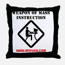 WMI2HR Throw Pillow