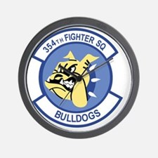 354th Fighter Squadron Wall Clock