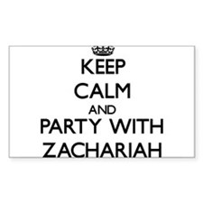 Keep Calm and Party with Zachariah Decal