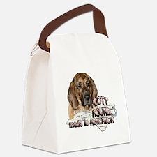 AMERICAN PLOTT HOUND Canvas Lunch Bag