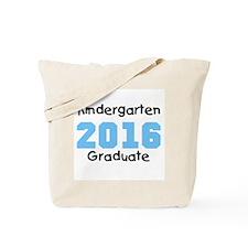 Blue Kindergarten Grad 2014 Tote Bag