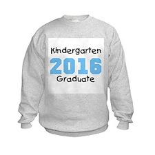 Blue Kindergarten Grad 2014 Sweatshirt
