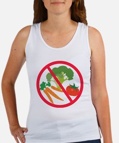 No Veggies Women's Tank Top