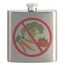 No Veggies Flask