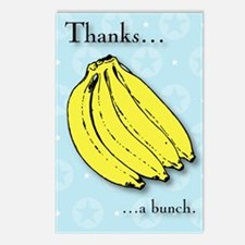 Banana bunch thank you gr Postcards (Package of 8)