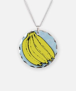 Banana bunch thank you greet Necklace